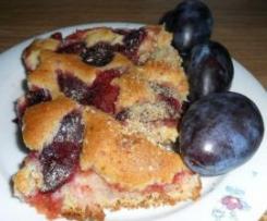 torta di prugne nonna franziska (zwetschgenkuchen)