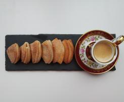 Gusinye lapki o zampe di papera - pasticcini russi ( senza glutine)