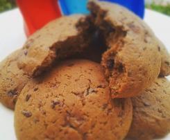 Pea-Bana-nut  Double Chocolate Chips Cookies
