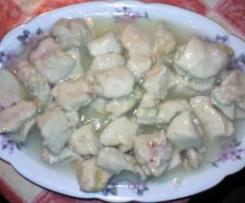Pollo al limone tipo cinese