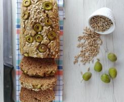 PANE DI GRANO SARACENO con semi di girasole e olive