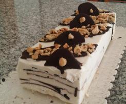 Torta gelato con scaglie di cioccolato light