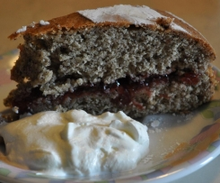 Schwarzplententorte Torta di grano saraceno