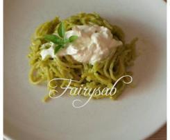 Pasta risottata in crema di Friggitelli & Stracciatella di Burrata