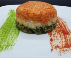 Timballo di riso dal cuore morbido (W l'Italia) *CONTEST TIMBALLI DI RISO*