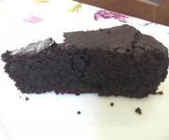 Torta cioccolato e rape rosse