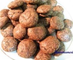 Biscottini speziati di cioccolato e mandorle