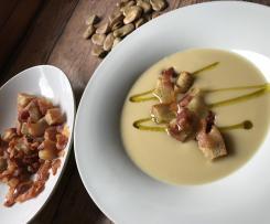 Cremosa  Croccante di fave /contest legumi
