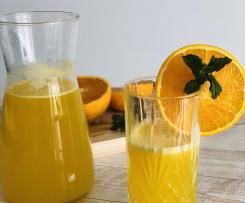 Aperitivo all'arancia, zenzero e menta