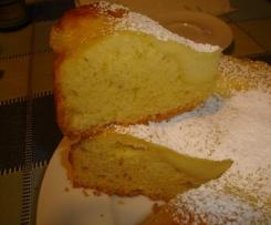 torta Area51 (torta morbida al limone con crema alla vaniglia)