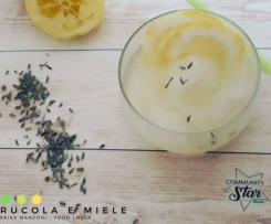 Granita limone e lavanda, vegan/Keto/low carb