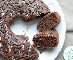 Ciambella al cacao morbidissima (senza uova)