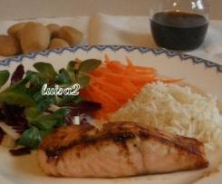 Teriyaki, salsa giapponese per carne e pesce