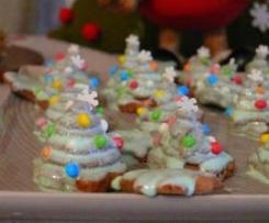 Alberelli di Natale al cioccolato