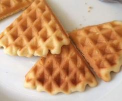 Waffle senza lievito