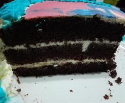 Torta cacao e crema