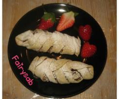 Strudel di fragole albicocche & mandorle -contest strudel-