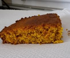 Torta vegana di carote e mandorle
