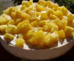 Semifreddo alla frutta. Vegan, senza glutine