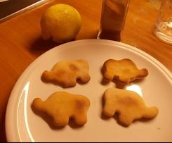 Biscotti integrali al profumo di limone e cannella