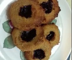 Biscotti rustici 2 farine e tre frutti