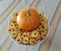 Biscotti salati di zucca al profumo di timo -contest biscotti salati-