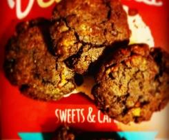 "Bittersweet Simphonies ( Cookies ""dolci&amari"" al cardamomo, albicocche e cacao)-CONTEST BISCOTTI SALATI"