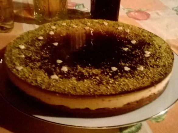 Cheesecake Al Pistacchio Con Geleè Al Caffè Contest Dolci Senza