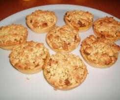 tortini di mela e pera alla cannella
