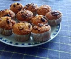 Muffin rustici alla zucca senza glutine