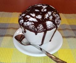 Pensieri piccanti - Tortine in tazza con grappa al peperoncino e cioccolato fuso -CONTEST S.VALENTINO