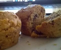 cupcakes senza farina con banana e archidi