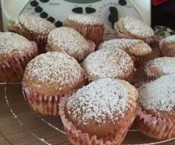 Muffin al mascarpone con cuore dolce