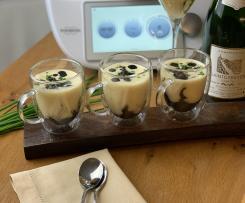 Cappuccino di seppie al nero dello chef Alajmo (contest ristorante)