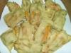 Fiori di Zucca in Pastella al Forno