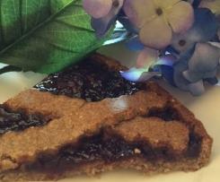 Crostata dolce con ceci / senza glutine e Vegan