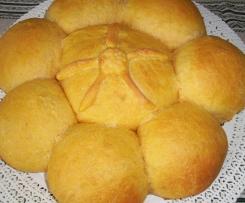 Fiore di pane alle Carote