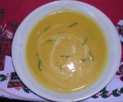 Zuppa di zucca allo zenzero