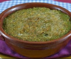 Flan di broccoli e gorgonzola