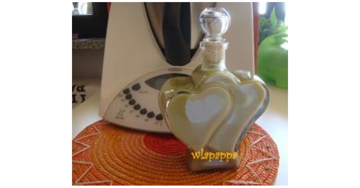 crema di liquore al pistacchio un ricetta creata dall. Black Bedroom Furniture Sets. Home Design Ideas