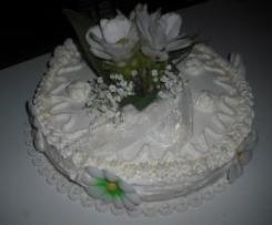 torta di Ludo con farcia di amarene