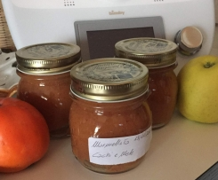 Marmellata di cachi e mele