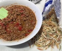 Condimento per pasta Salsiccia, Peperoni e Pesto