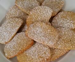 Biscotti semintegrali alla panna