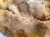 Crêpes di zucchine e ricotta con crema di funghi