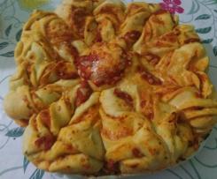 Pan Brioche Salato Fior di Pizza {contest Pic Nic}