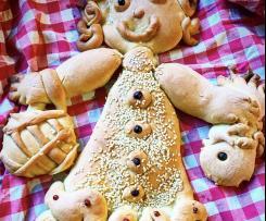 Sa Pippia De Caresima pane tipico della Quaresima /Contest ricette per bambini