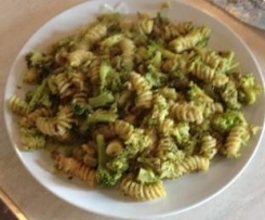Fusilli con broccoletti siciliani