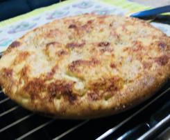 Focaccia morbida ai salumi e formaggi