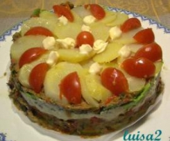 torta fredda di verdure